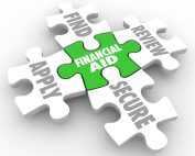 Puzzle pieces for financial aid